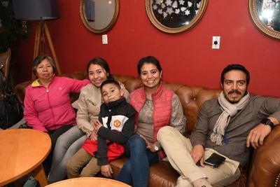 Familia Rojas Martínez.