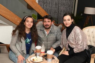 Zyanya Judith Silvestre, Aarón Silvestre Herrera y Judith Moreno Sauceda.