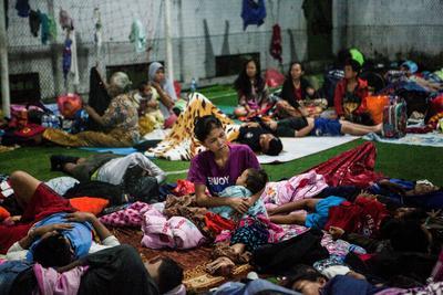 Indonesia, con poco tiempo tras tsunami