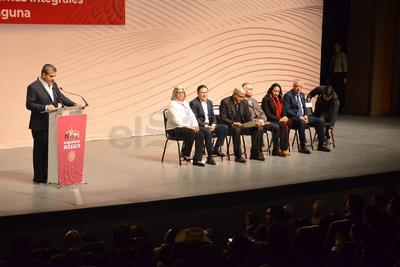 Riquelme destacó que se han hecho esfuerzos para garantizar la seguridad en la región, particularmente con el Mando Especial de La Laguna.