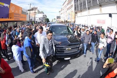 Así fue la llegada de AMLO a Torreón como presidente de la República