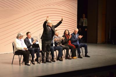 El presidente Andrés Manuel López Obrador presentó en la ciudad de Torreón, Coahuila, el Plan de Programas Integrales de Desarrollo para La Laguna.