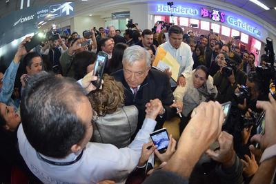 El presidente Andrés Manuel López Obrador llegó a Torreón para presentar los Programas de Desarrollo para La Laguna.