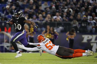 Los Ravens (10-6) terminaron una sequía de viajes a la fase final de tres años con su sexta victoria en los últimos siete partidos.