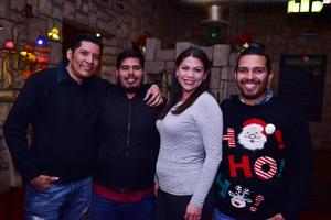 29122018 Mary Monárrez, Arleth Valadez, Benjamín Romero, Elena Chavarría y Cristy Celis.