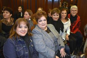 31122018 PRESENTACIóN DE LIBRO.  Aurora, Martha Luz, Rosy, Lucy y Sonia.