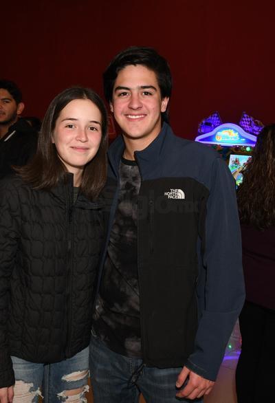 Cristina Rivas y Jorge Acevedo.