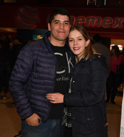 Sergio Morales y Karina Palencia.