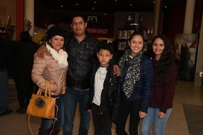Familia Saucedo Núñez.