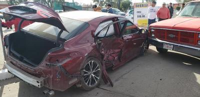 El segundo de los casos se presentó en el bulevar De la Juventud, justo frente a las instalaciones de Pemex.