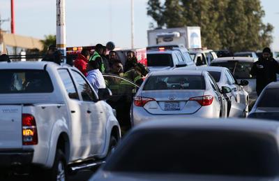 Autoridades de vialidad hicieron lo correspondiente para dar agilidad al tránsito.