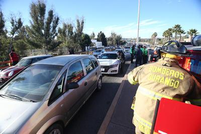 En dicho incidente participaron un Sentra, Chevrolet Meriva, Honda Accord, Toyota Corolla, una camioneta Hilux y un Tsuru.