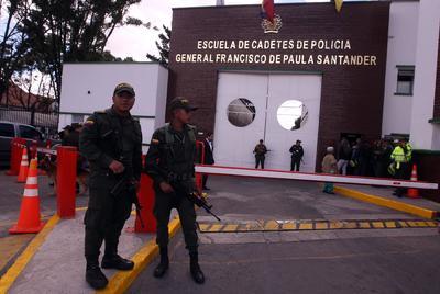 Ocurrió dentro de la Escuela de Policía General Francisco de Paula Santander.