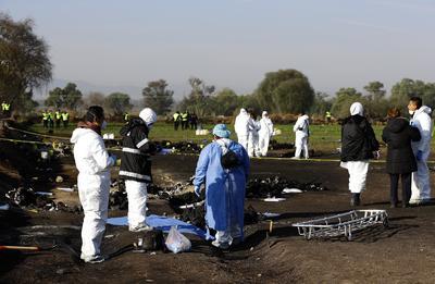 Por el elevado grado de calcinación de algunos de los cadáveres, la identificación de algunos cuerpos se estima complicada.