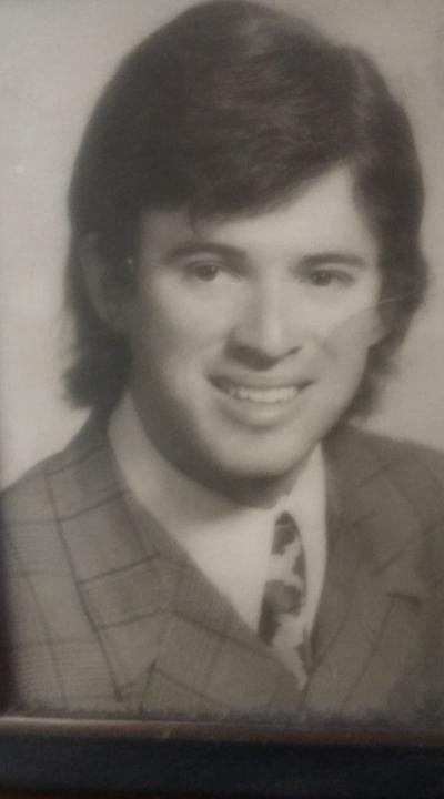 Alejandro Eguía López, a los 20 años de edad.