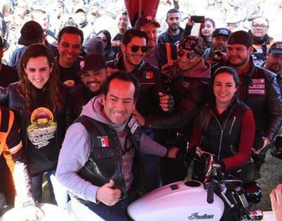 Los bikers decidieron hacer una concentración de los amantes de las motocicletas en este Pueblo Mágico, porque no existía en el norte del país.
