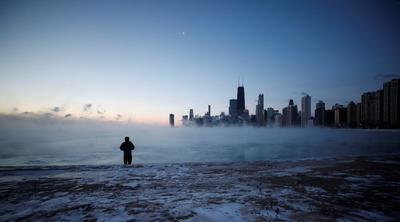 Una tormenta de frío extremo afecta a la región del medio oeste de EUA.