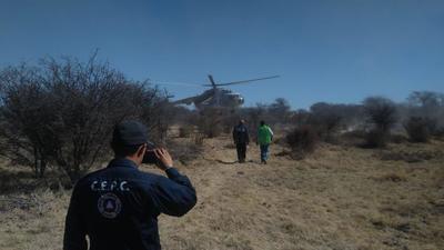El piloto identificado como Jesús Zarate Gerbasio, originario de Sonora, resultó lesionado de gravedad.