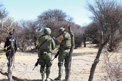 Personal de la Fiscalía General del Estado confirmó el deceso de una persona, identificada como Hugo García Cornejo.