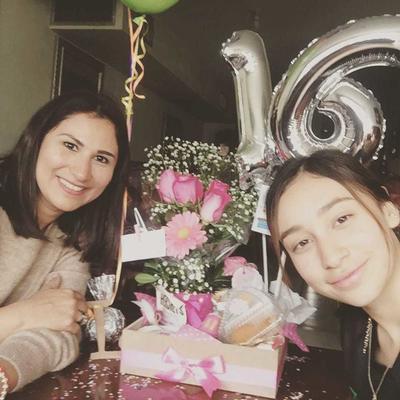 Erika y Luciana.