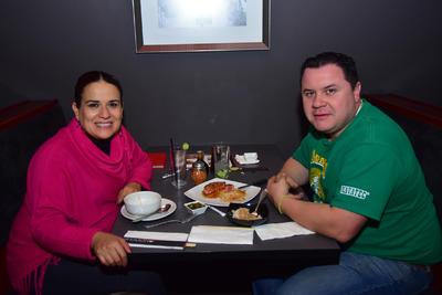 Olga y Luis.