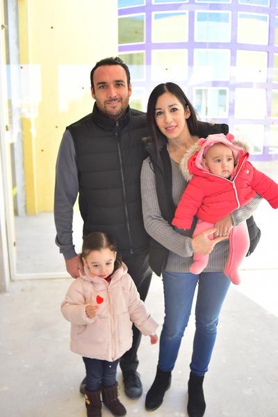 Isabel, Ricardo, Mariano y Ricky