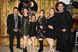 31012019 NOCHE DE FIESTA.  Juan, Daniela, Rossy, Marytere, Ivette y Andrés.