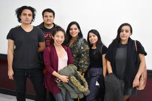 02012019 ENTRE AMIGOS.  Juan Francisco, Erick, Elena, Mafer, Ana y Lilia.