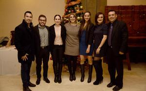 01012019 CELEBRACIóN DECEBRINA.  Miguel, Alejandro, Iris, Daniel, Karina, Braulio y Ana.