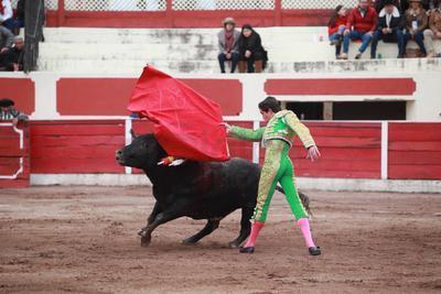 Sin embargo esta vez un toro malo y una mala estocada no le permitieron ver un trofeo en sus manos.