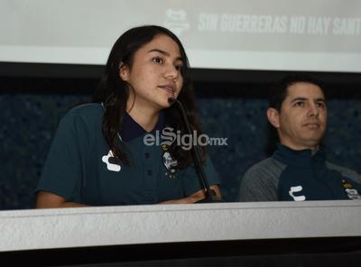 Sofía Ochoa fue presentada como nuevo elemento de Santos Femenil.