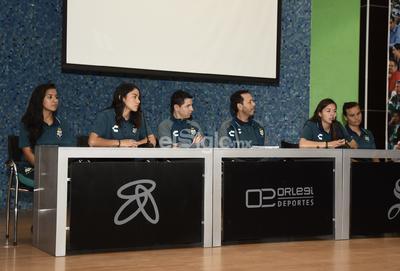 Además las jugadoras agradecieron el apoyo que recibieron para llegar a las Guerreras.