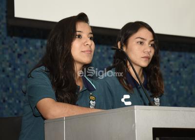 Katia Estrada agradeció el esfuerzo por llevarla al club lagunero.