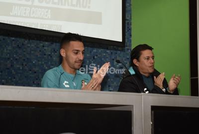 Santos presenta oficialmente a Javier Correa