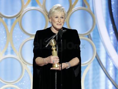 Uno de los premios más reñidos de la velada, el de mejor actriz de drama, fue a parar a Glenn Close por The Wife, que superó así a Lady Gaga (A Star is Born); Nicole Kidman (Destroyer); Melissa McCarthy (Can You Ever Forgive Me?) y Rosamund Pike (A Private War).
