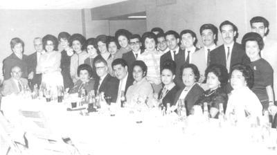06012019 Personal del Banco de Londres y México en 1966.
