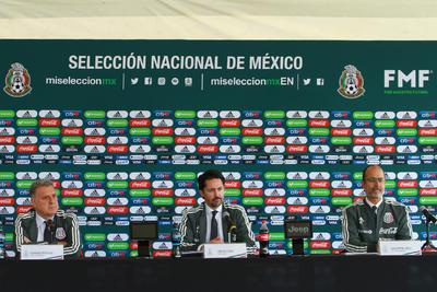 Martino es presentado como técnico del Tri