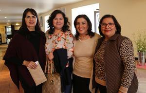 08012019 FIESTA DE CANASTILLA.  Gaby, Lidia, María Esther y Tere.
