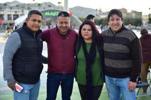 08012019 Paco, Juan Carlos, Yunuen y Luis.