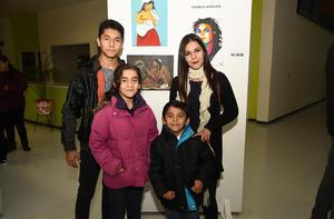 08012019 Ileana Hernández Miramontes, Alex Contreras Hernández, Alonso Meraz Hernández y Marielle Meraz Hernández.
