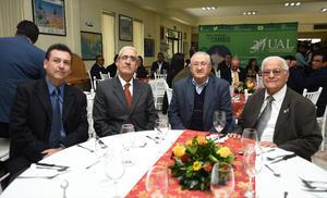 09012019 Tomás del Bosque, Jorge Yamil Darwich, Manuel Luévanos y Pedro Rivas Figueroa.
