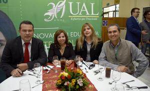 09012019 Fernando Montenegro, Lupita Caballero, Juanis Guzmán e Isaac Rodríguez.