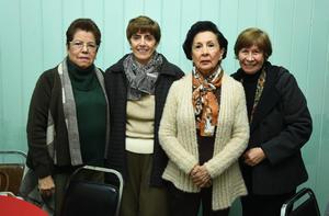 09012019 Rosa María, Ema, Rosy y Adelina.