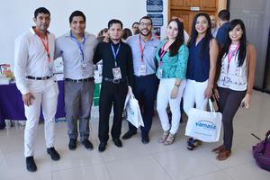 10012019 EN RECIENTE EVENTO.  Gerardo, Fernando, Elías, Diego, Paulina, Araceli y Muriel.