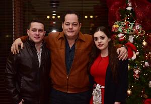 Beto, Alberto y Andrea.