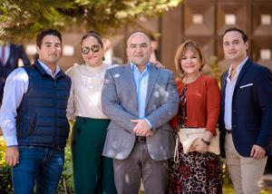 Emiliano Melin,Ana Melin,Memo Melin,Cristina Madrigal y Rodolfo Melin.