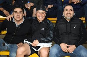 Jose, Enrique y Renato