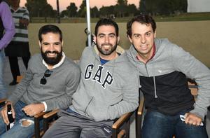 Miguel, Daniel y Lalo