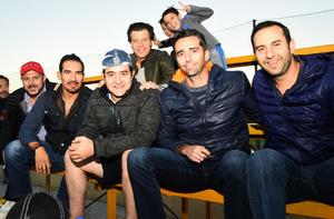 Paco, Jose, Luis, Francisco, Rudy y Manuel