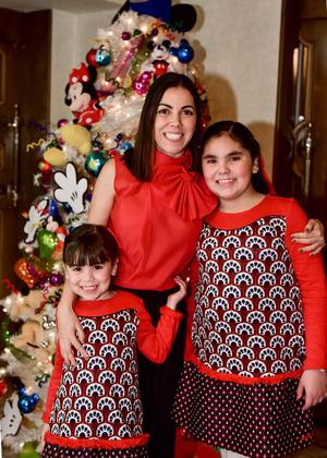 Pamela, Romina y Luisa.